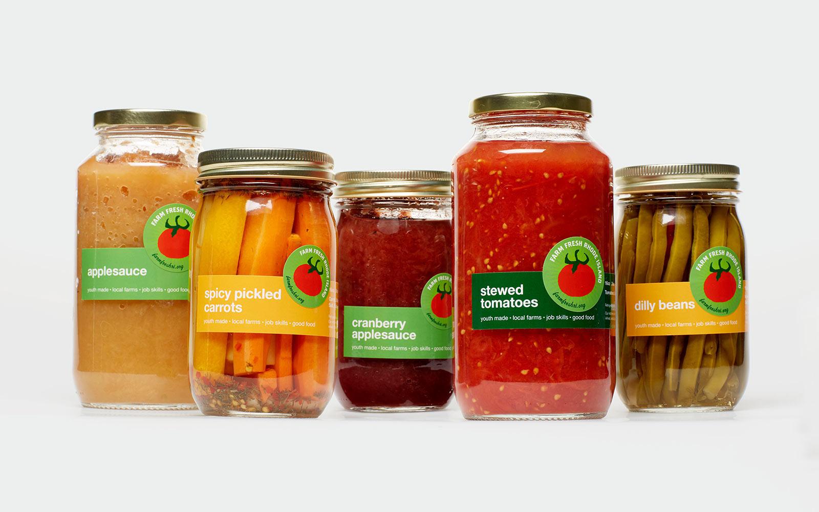 Packaging designed for Farm Fresh RI